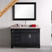 Classical Floor Standing Bathroom Vanity with Mirror